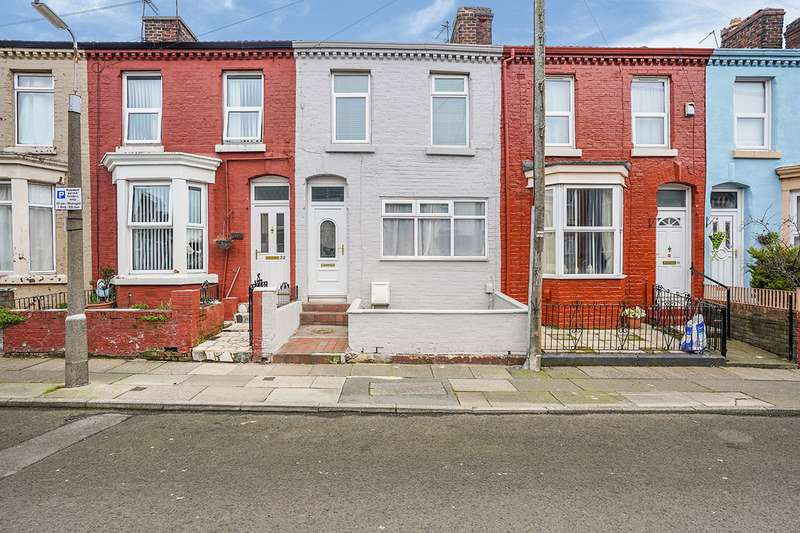 3 Bedrooms House for sale in Roxburgh Street, Liverpool, Merseyside, L4