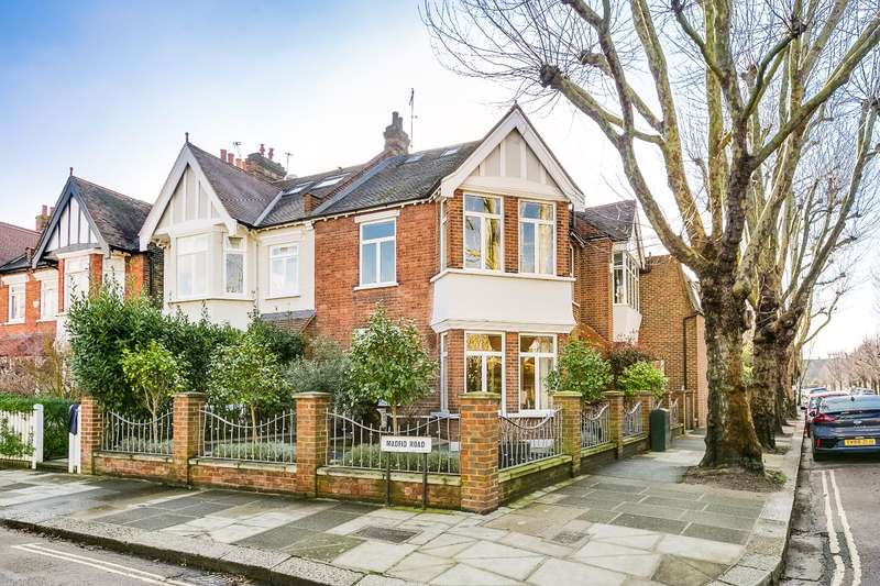 5 Bedrooms Semi Detached House for sale in Madrid Road, Barnes, London