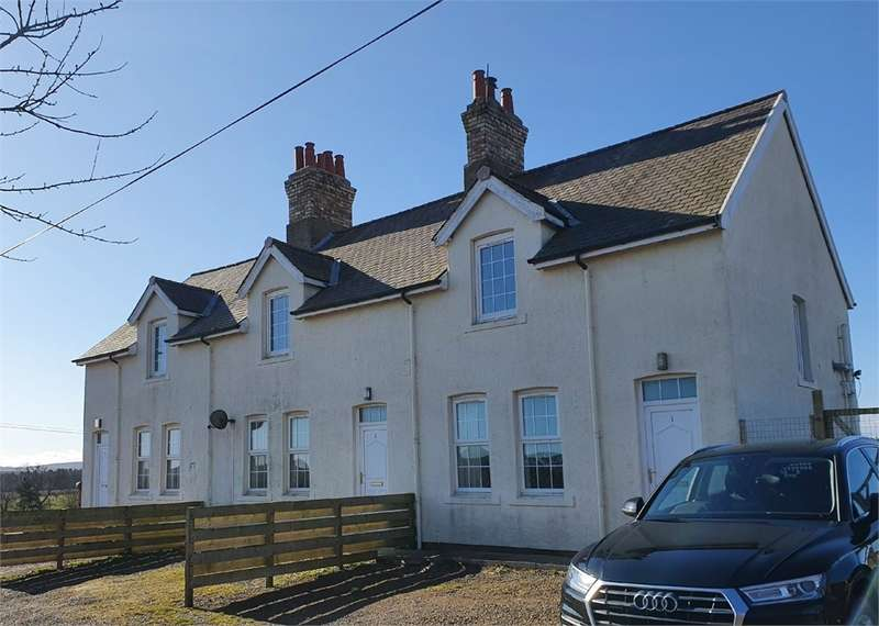 2 Bedrooms Terraced House for sale in 2 Linthill Farm Cottage, EYEMOUTH, Berwickshire, Scottish Borders