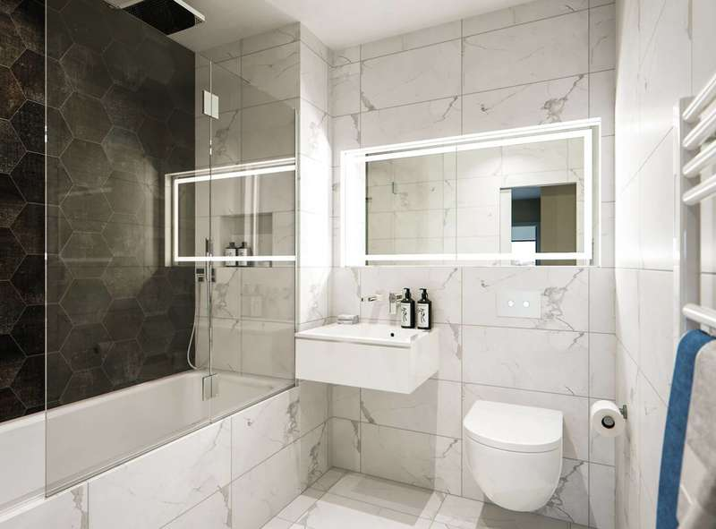 3 Bedrooms Flat for sale in 58-70 York Road, Battersea, SW11