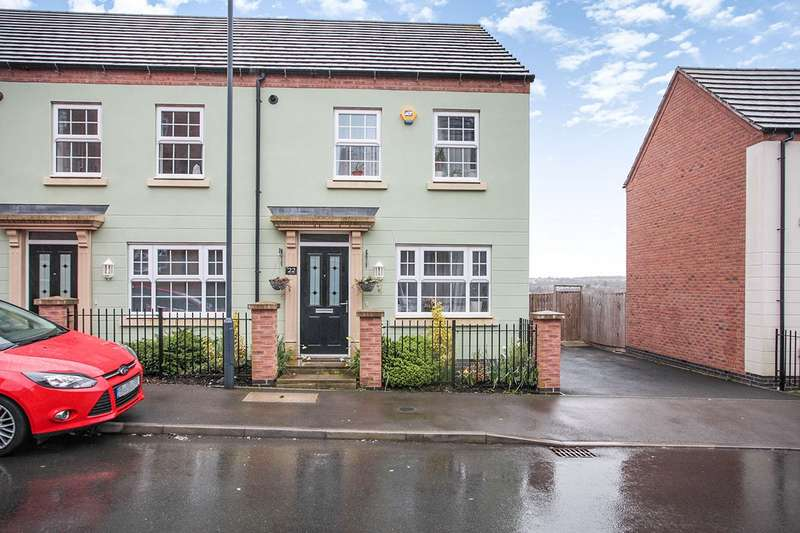 3 Bedrooms End Of Terrace House for sale in Tile Lane, Nuneaton, Warwickshire, CV10