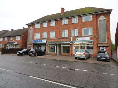 3 Bedrooms Flat for sale in Brabazon Road, Oadby, Leicester, Leicestershire