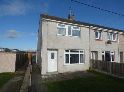 3 Bedrooms End Of Terrace House for sale in Tan Y Bryn, Valley, Holyhead, Sir Ynys Mon, LL65