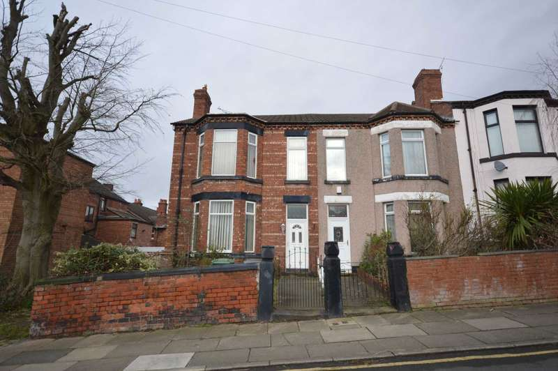 4 Bedrooms End Of Terrace House for sale in South Road, Birkenhead