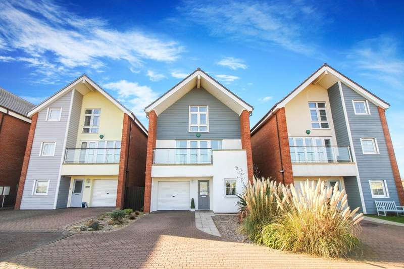 5 Bedrooms Detached House for sale in Seafield Mews, Seaton Sluice, Whitley Bay