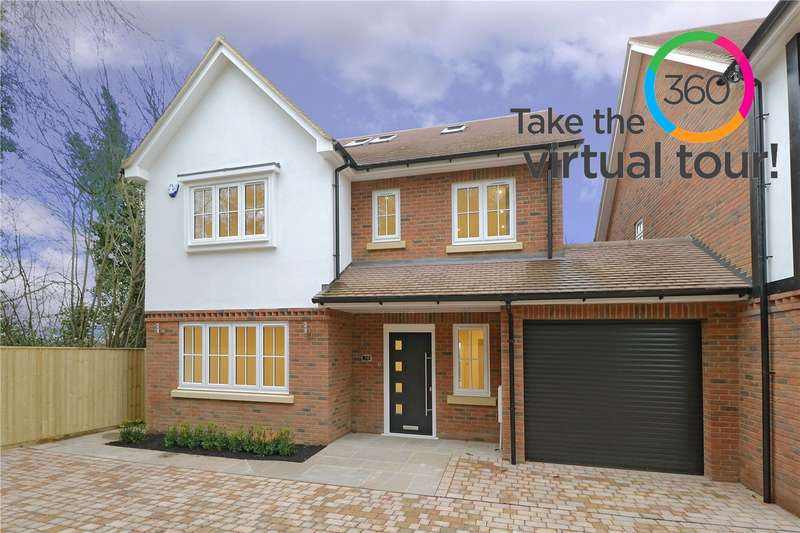 4 Bedrooms Link Detached House for sale in Rosebery Road, Bushey, WD23