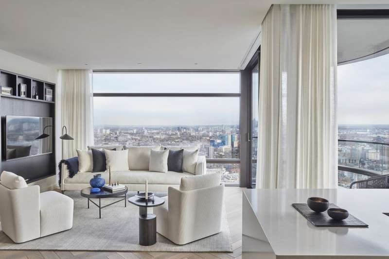 3 Bedrooms Apartment Flat for sale in Principal Tower, Worship Street, EC2A