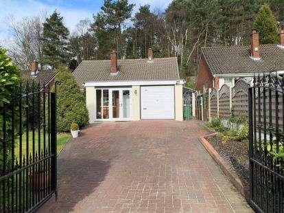 3 Bedrooms Bungalow for sale in Rugeley Road, Hazel Slade, Cannock, Staffordshire