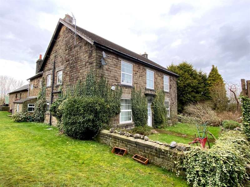 5 Bedrooms Farm House Character Property for sale in Hilltop Farm, Derby Road, Clay Cross, Chesterfield, S45 9AG