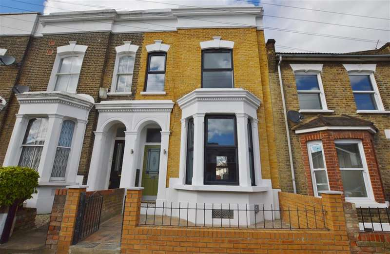 3 Bedrooms Terraced House for sale in Vicarage Road, Stratford, London, E15 4HD