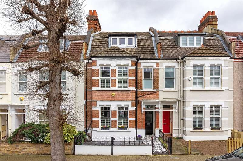 4 Bedrooms Terraced House for sale in Moring Road, London, SW17