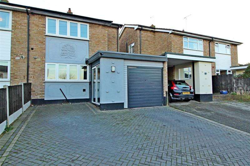 3 Bedrooms Semi Detached House for sale in Hudson Road, Leigh-on-Sea, Essex, SS9