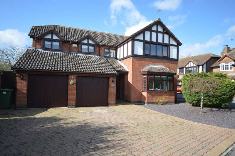 4 Bedrooms Detached House for sale in Willowbrook Close, Broughton Astley, Leics, LE9 6HF