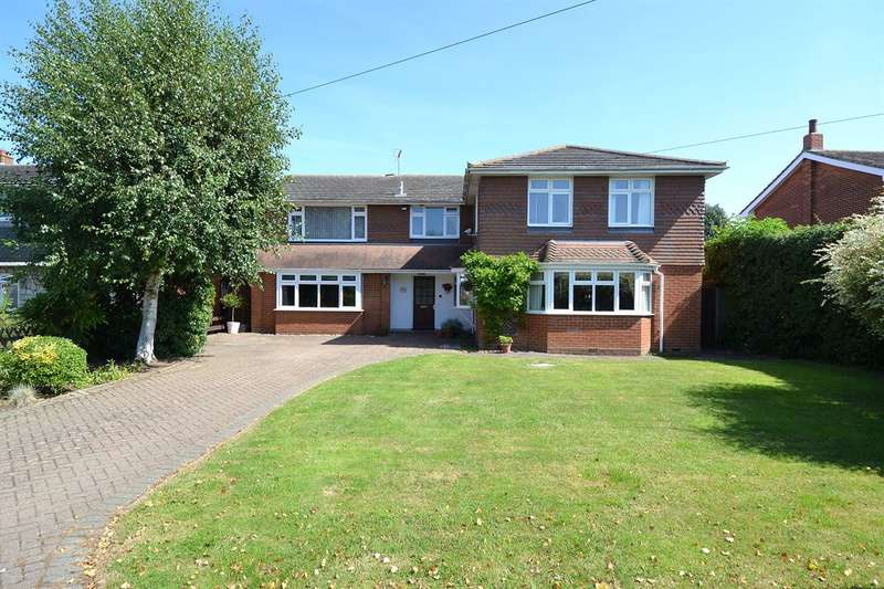 5 Bedrooms Detached House for sale in Meadow Drive, Chestfield, Whitstable