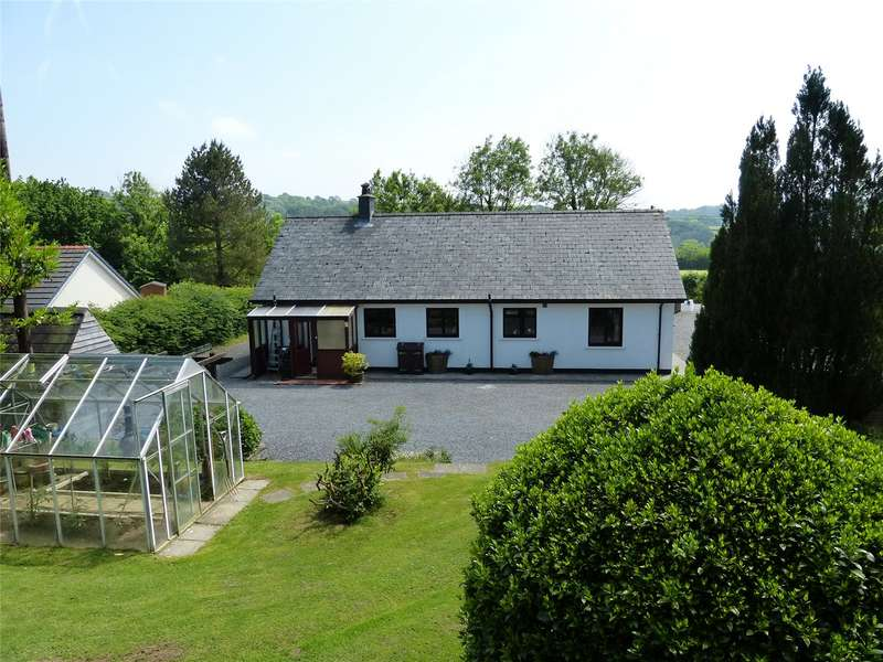 3 Bedrooms Detached Bungalow for sale in Glynaeron, Hebron, Whitland, Carmarthenshire