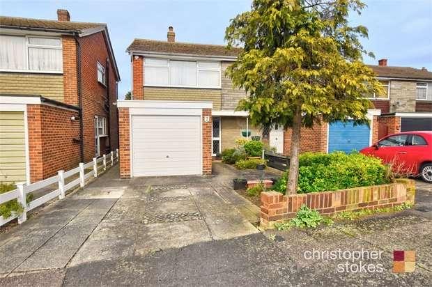 3 Bedrooms Semi Detached House for sale in Oakdene, Cheshunt, Cheshunt, Hertfordshire