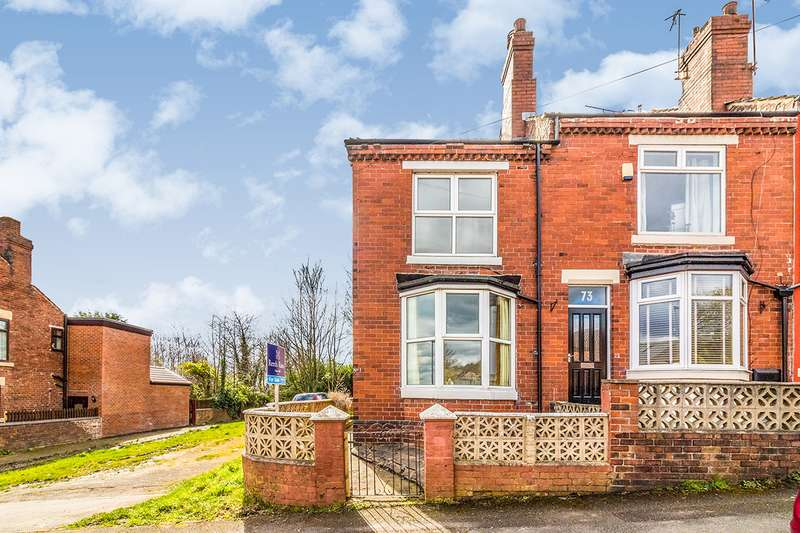 2 Bedrooms End Of Terrace House for sale in Manor Road, Kimberworth, Rotherham, South Yorkshire, S61