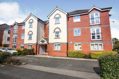 2 Bedrooms Flat for sale in Coniston Court, 2 Downes Way, Sharston, Greater Manchester
