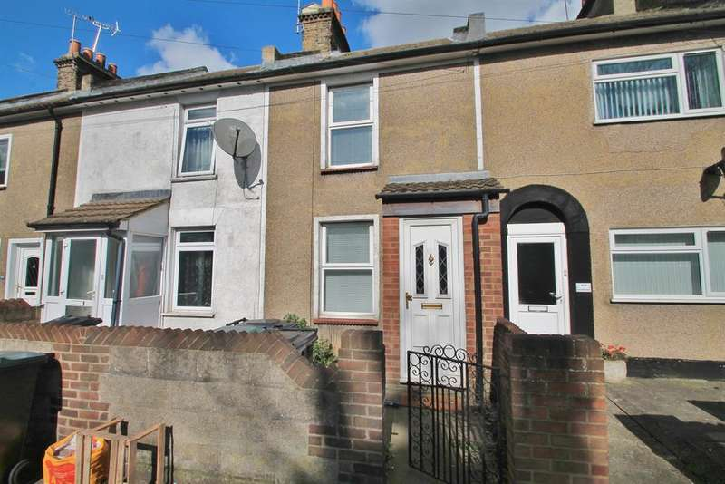 2 Bedrooms Terraced House for sale in East Milton Road, Gravesend, DA12 2JL