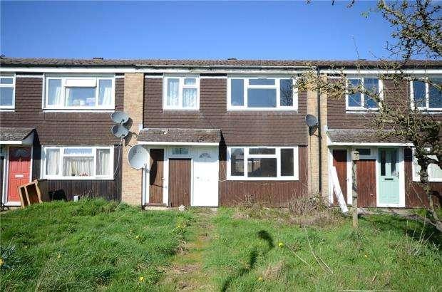 3 Bedrooms Terraced House for sale in Stockbridge Drive, Aldershot, Hampshire