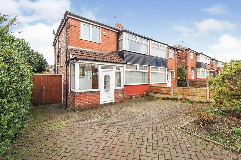 3 Bedrooms Semi Detached House for sale in Charlbury Avenue, Prestwich, Manchester, Greater Manchester, M25