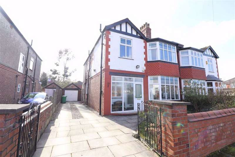 4 Bedrooms Semi Detached House for sale in Wardley Avenue, Whalley Range, Manchester, M16