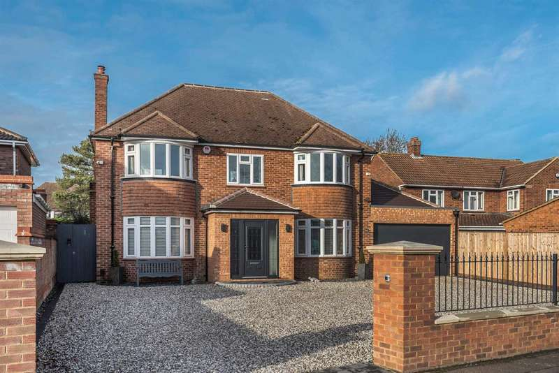 5 Bedrooms Detached House for sale in Putnoe Lane, Putnoe, Bedford
