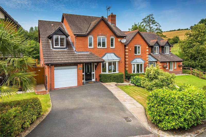 4 Bedrooms Detached House for sale in 5 Cantern, Bridgnorth, Shropshire, WV16