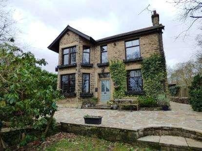 5 Bedrooms Detached House for sale in Yeardsley Lane, Furness Vale, High Peak, Derbyshire