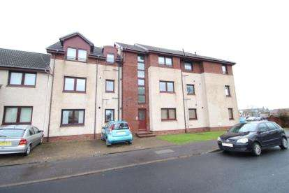 3 Bedrooms Flat for sale in Springvale Court, Saltcoats, North Ayrshire