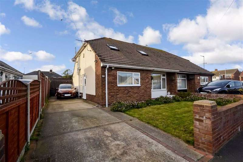 3 Bedrooms Semi Detached Bungalow for sale in Violet Avenue, Ramsgate, Kent