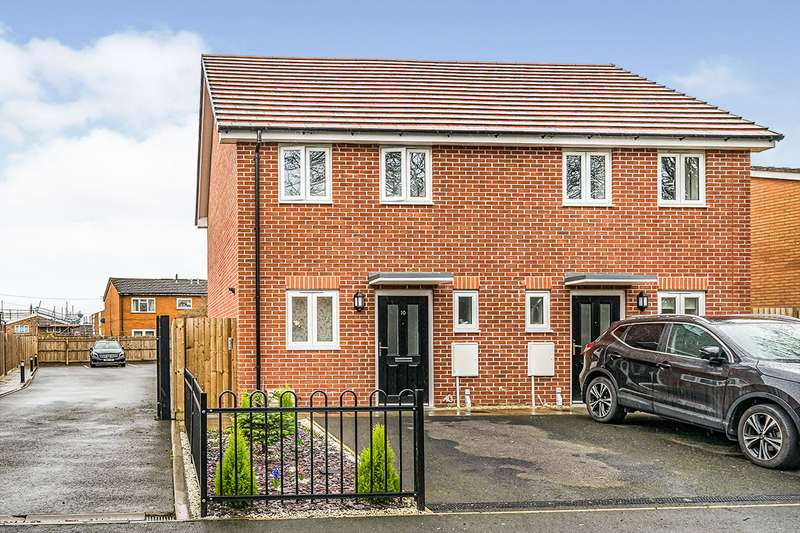 2 Bedrooms Semi Detached House for sale in Churchyard Road, Tipton, West Midlands, DY4
