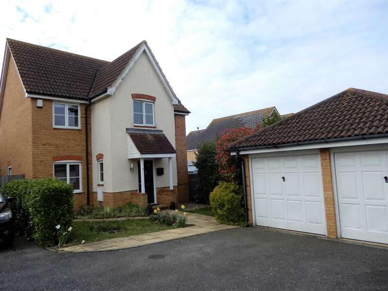 4 Bedrooms Detached House for sale in Tradewinds, Whitstable