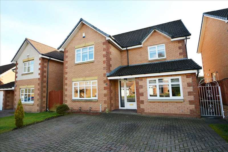 4 Bedrooms Detached House for sale in Manse View, Blantyre