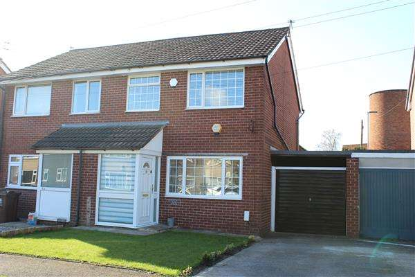 3 Bedrooms Semi Detached House for sale in Grampian Close, Manchester