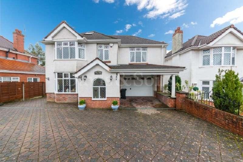 5 Bedrooms Detached House for sale in Tregarn Road, Langstone, Newport. NP18 2JS