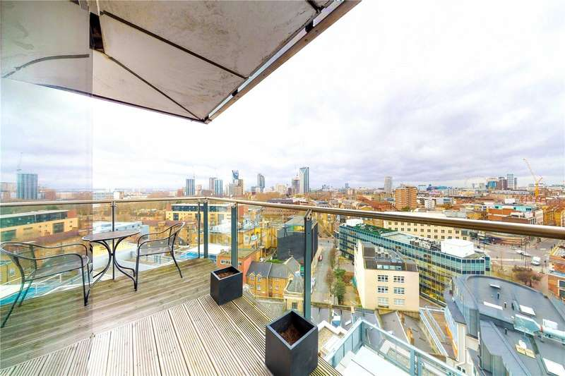 2 Bedrooms Apartment Flat for sale in Empire Square West, Empire Square, London, SE1