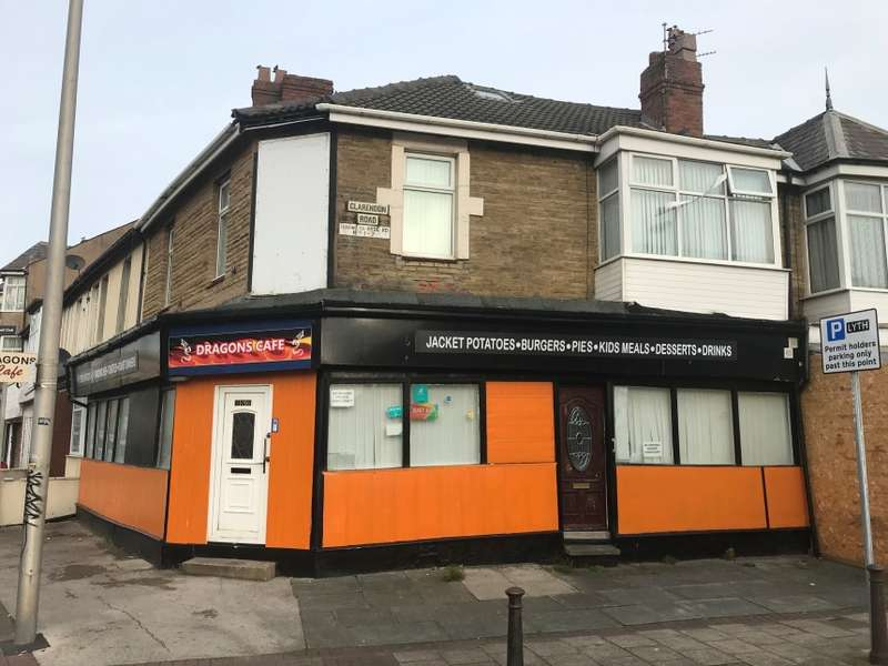 Mixed Use Commercial for sale in 106-108 Lytham Road, Blackpool, Lancashire