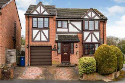 4 Bedrooms Detached House for sale in Hawthorne Way, Ashgate, Chesterfield, Derbyshire