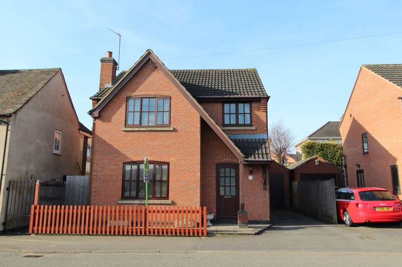 3 Bedrooms Detached House for sale in North Street, Whitwick, Coalville, LE67