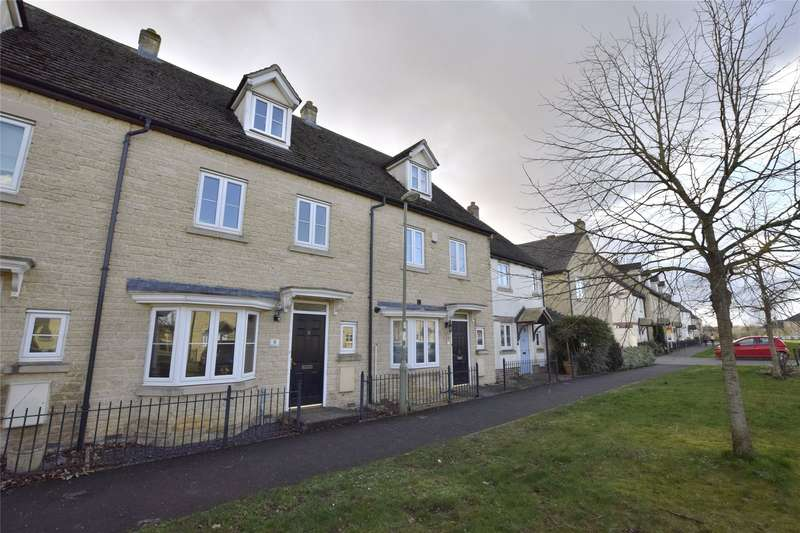 4 Bedrooms Terraced House for sale in Blackthorn Avenue, Carterton, Oxfordshire, OX18