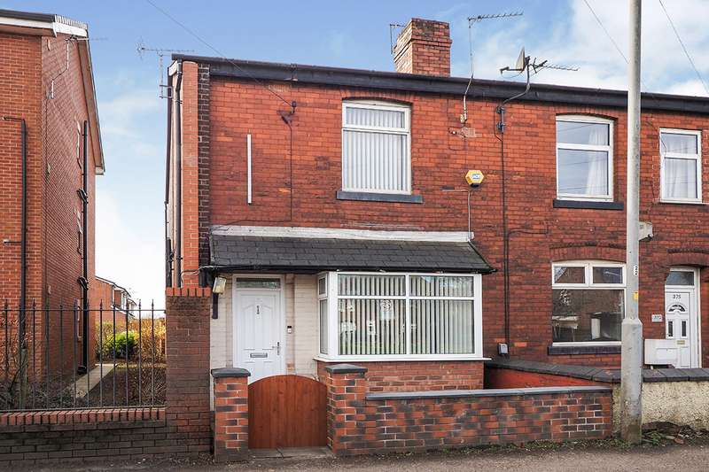 3 Bedrooms End Of Terrace House for sale in Bolton Road, Radcliffe, Manchester, Greater Manchester, M26
