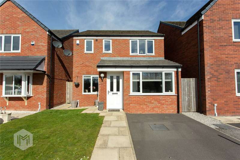 3 Bedrooms Detached House for sale in Halls Close, Radcliffe, M26