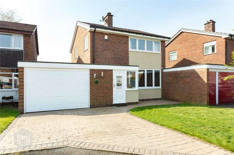 3 Bedrooms Detached House for sale in Ashford Close, Bolton, Greater Manchester, BL2