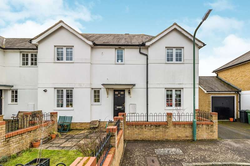 4 Bedrooms End Of Terrace House for sale in Fennel Close, Maidstone, Kent, ME16