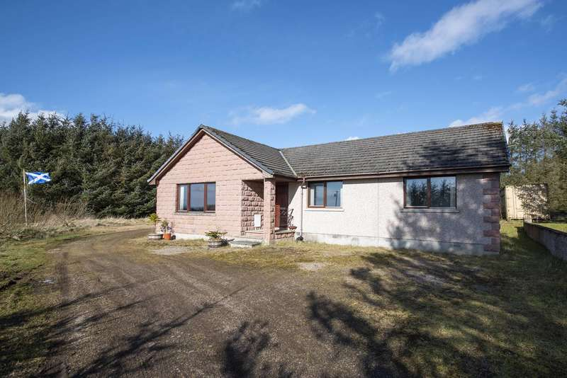 4 Bedrooms Bungalow for sale in New Byth, Turriff, Aberdeenshire, AB53 5UA