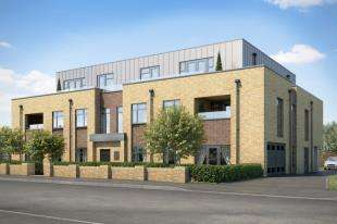 3 Bedrooms Flat for sale in Zenith Court, 96 Park Hill Rise, Croydon, Surry