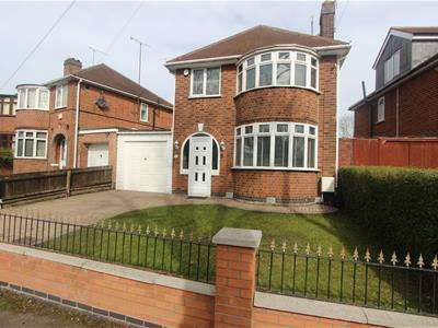 3 Bedrooms Detached House for sale in Garland Crescent, Leicester