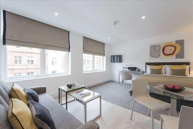 Studio Flat for rent in The Rosebery, 20 Rosebery Avenue, London