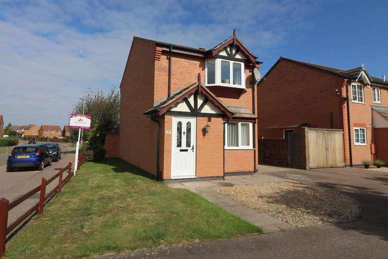 3 Bedrooms Detached House for sale in Marigold Crescent, Melton Mowbray